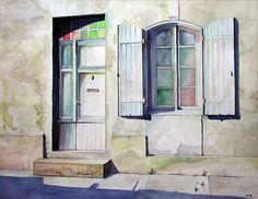 """""""Every day one ought to see a fine pic of a #painting""""  #FrenchQuarter #Doorway  #NOLA #NewOrleans #HERB #HerbWilley #fineart #art #fineartist #transparentwatercolors #paintings #nautical #marine #generaltheme #contemporaryrealism #commissionwork  #ArtGalleries #artmuseums #artcollection #artcurators #artconnoisseurs #AmericanArt #AmericanArtist by serenasierra"""