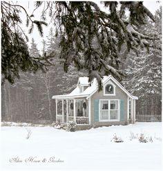 Aiken House & Gardens: In the Bleak Midwinter