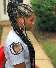 +26 Fulani braided hairstyle For Black Hair for the weekend #fulani #braided #bride #hair #hairstyles #haircolor #blackhair