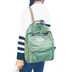 a846990865db DCIMOR Women Backpack for School Teenagers Girls Vintage Stylish School Bag  Ladies Cotton Fabric Backpack Female