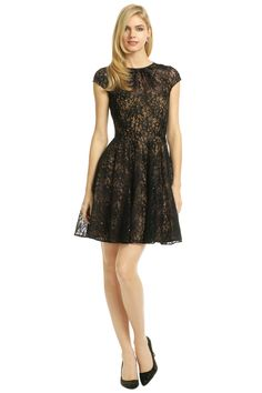 gorgeous lace dress.. perfect for valentines dinner