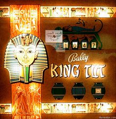 King Tut Pinball (1969 Bally)