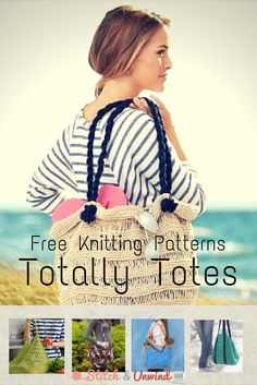 Totally Tote: 9 Fresh Tote Bags to Knit Today