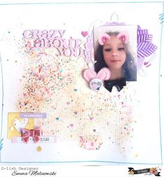 My Scrapbook, Scrapbook Layouts, Scrapbooking, Crafts, Design, Home Decor, Manualidades, Decoration Home, Room Decor