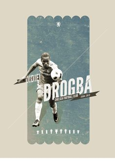 Didier Drogba. Kings of Europe. A continuing series on the icons of Chelsea, by Michael Bantug