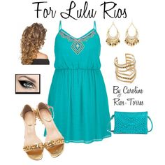 For Lulu(sis in law) by caroline-rios-torres-hernandez on Polyvore featuring maurices, Christian Louboutin, Street Level, SunaharA and Charlotte Russe