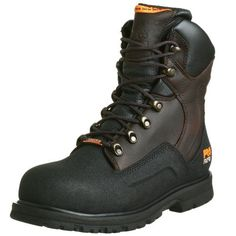 "Timberland PRO Men's G48Powerwelt Waterproof 8"" Steel Toe Boot - http://authenticboots.com/timberland-pro-mens-g48powerwelt-waterproof-8-steel-toe-boot/"