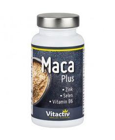 Maca Plus Kapseln - Die Powerknolle der Inkas plus Selen, Zink, Vitamin B6 für mehr Manneskraft