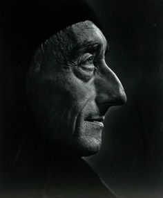 Jacques Cousteau -- by Yousuf Karsh, CC (Armenian: Յուսուֆ Քարշ; December 1908 – July an Armenian-Canadian photographer, and one of the most famous and accomplished portrait photographers of all time. Jacques Cousteau, Black And White Portraits, Black And White Photography, Yousuf Karsh, Interesting Faces, Famous Faces, Belle Photo, Portrait Photographers, Famous People