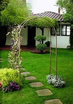 Garden Ventures Canterbury Triple Arbor by Garden Ventures. $613.00. This lushly covered Canterbury Triple Arbor will frame a garden entrance, establish a traditional border, shade a gateway or define an entrance to a private and secluded area. These beautiful garden accessories are made from maintenance-free, long-lasting copper tube, some with hand-turned wood finials. All will quickly weather to a warm brown tone and eventually to a rich green patina. The Arbor and ...