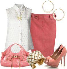 Outfits de Moda ...Me Tomo Cinco Minutos: Una simple camisa blanca