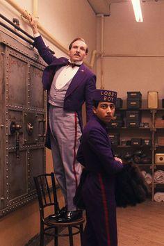 #TheGrandBudapestHotel (2014) | #RalphFiennes as M. Gustave & #TonyRevolori Zero | IMDb.com