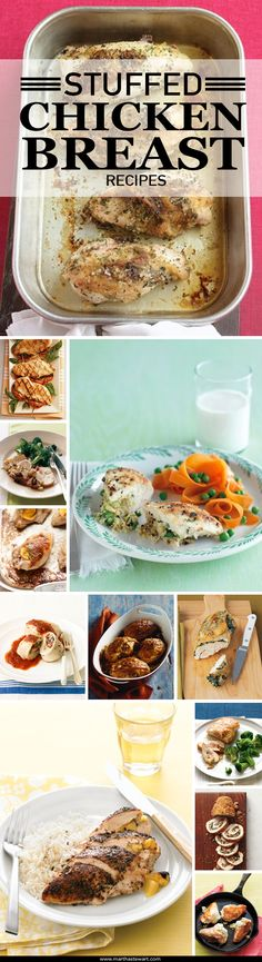 Stuffed Chicken Breast Recipes | Martha Stewart Living