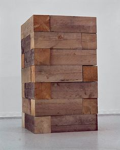 Carl Andre, Timber Piece (Well), 1964/1970