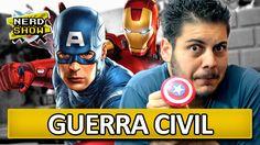 Capitão América: Guerra Civil - Conheça a treta! - Nerd Show