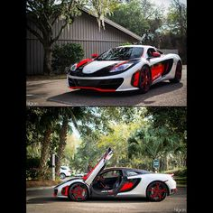 What do you think of this gorgeous McLaren?