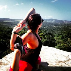Yoga with a view! #yogi #om #xoBelize