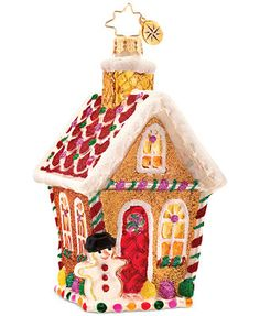 Christopher Radko Macy's Exclusive Home Sweet Home Ornament