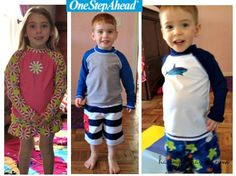"""One of my favorite places to get swimsuits and sun protection for the kids has always been One Step Ahead.  The quality of their products is..."""