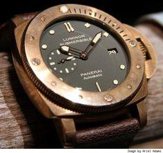 Panerai Luminor Submersible 1950 Watch -  Bronzeluxist.com