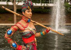 African Steampunk: Safari Guardian by MakeupSiren