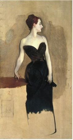 John Singer Sargent  Study of Mme Gatreau, c.1884  Tate Britain  National Gallery (London)
