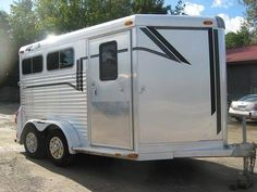 Congratulations Jayme Cook of Uxbridge, Ontario on the purchase of her 4-Star Trailer 2 Horse Bumper Pull From Granton Trailers! (519) 268-2050