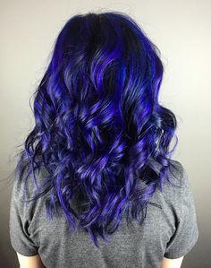 Pravana blue & violet color melt