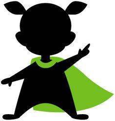 Silhouette Online Store: Superhero Kid