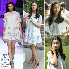 Yay or Nay : Alia Bhatt in Not So Serious by Pallavi Mohan | PINKVILLA