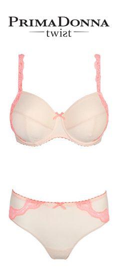 #PrimaDonnaTwist Lolita in Angel #lingerie http://www.bitsoflace.com/brand-collections/prima-donna-twist.html