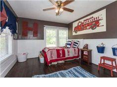 Like this boys room.