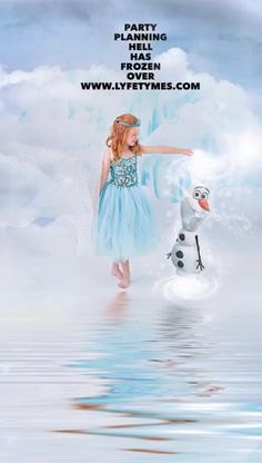 a Frozen Party Plan All Your Parties with Your All-In-One Free Party Planner Barbie Theme Party, Barbie Birthday Party, Frozen Theme Party, Cinderella Birthday, Birthday Party Outfits, Doll Party, Frozen Birthday Party, Unicorn Birthday Parties, Cowgirl Birthday