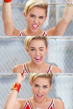 Anyone who thinks Miley is ugly is obviously stupid