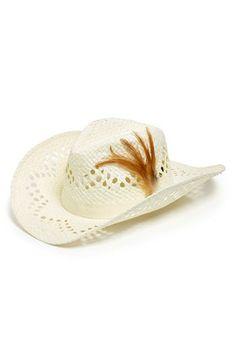 f02061c1e1d David   Young Open Weave Cowboy Hat