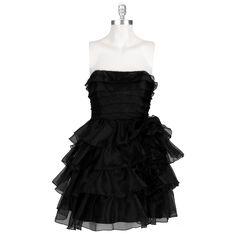Jessica Simpson Strapless Ruffle Tier Party Dress #VonMaur