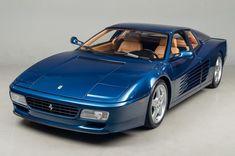 1992 Ferrari 512 TR Testarossa Coupe #ferrarivintagecars