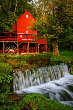 The famous Hodgson Mill in the southern Missouri Ozarks.