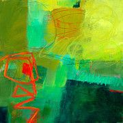 Jane Davies - Green and Red #1