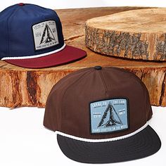 Loyal to the land since day one. Our Native Hat features a lightweight micro ripstop fabric with an adjustable snap back. Check out our full collection of Fall headwear in stores and online. #surfandstone https://www.hippytree.com/shop/hats/