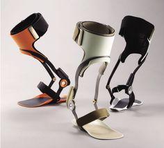 Leg brace for Kawamura Prosthetics, Inc. Id Design, Robot Design, Orthotics And Prosthetics, Prosthetic Leg, Adaptive Equipment, Medical Design, Braces, Ankle, Technology