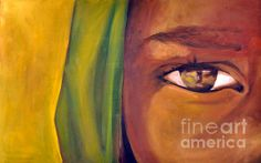 """Reflection"" by Martina Anagnostou Reflection Art, Illustration Art, Illustrations, Eye Art, Art Online, Inspire Me, Portraits, Wall Art, Cool Stuff"