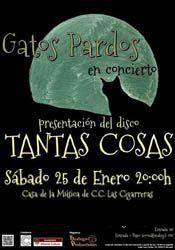 Gatos Pardos en concierto en Las Cigarreras http://www.agendalacant.es/index.php/gatos-pardos-en-concierto-en-las-cigarreras