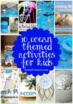 10 Ocean Themed Activities for Kids