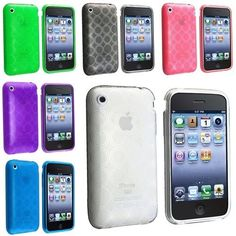 6 SOFT Crystal TPU Gel Case Skin Cover Compatible With iPhone - Compatible With Apple®: iPhone® / / iPhone® / Apple® iPod®, iPhone®, or iPad® are registered trademarks of Apple, Inc. Products are Apple® compa Ipod, Cell Phone Accessories, Crystals, Iphone 4s, Apple Iphone, Cover, Amazon, Christmas, Products