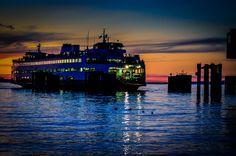 ferry washington | Washington State Ferry Terminal Photograph - Edmonds Washington ...