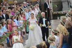 The King and Princess Madeleine. On Saturday 8 June 2013, Princess Madeleine and Mr. Christopher O'Neill were married in the Royal Chapel at the Royal Palace of Stockholm.