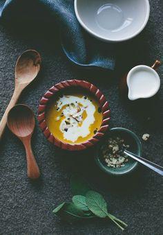 Fortunate Feast | Fall | First Course | Pumpkin Bisque