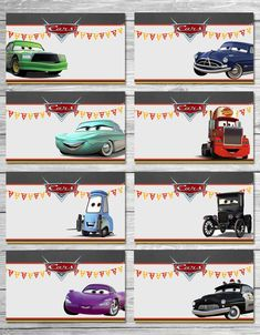 19 trendy Ideas for disney cars birthday party favors lightning mcqueen Disney Cars Party, Disney Cars Birthday, Cars Birthday Parties, Birthday Party Favors, Car Food, Food Tent, Vintage Jeep, Lightning Mcqueen, Imprimibles Paw Patrol