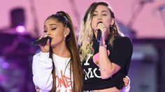 Image copyright                  One Love Manchester/Dave Hogan             Image caption                                      Ariana Grande (left) performed with Miley Cyrus                               The benefit concert held in the wake of the Manchester attack turned into... - #Benefit, #Concert, #Joy, #Love, #Manchester, #Pain, #Shines, #World_News